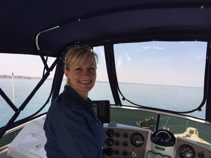 Me at the helm
